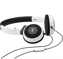 אוזניות קשת DJ איכותיות ניידות ובעלות ביצועים גבוהים מיקרופון ושלט מובנים במיוחד AKG דגם Y30 - משלוח חינם