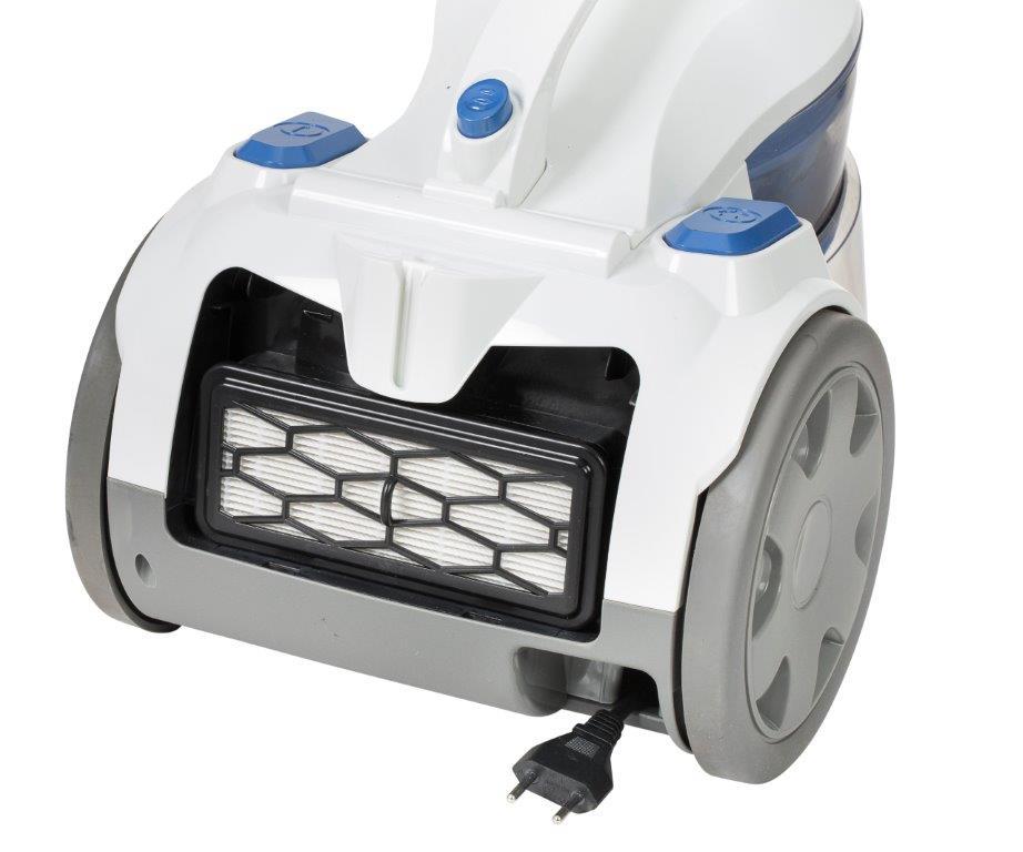 שואב אבק נגרר בעל מולטי צייקלון Monster דגם 1446 הספק 1600W חסכוני עם מיכל איסוף ללא צורך בשקית - משלוח חינם - תמונה 2