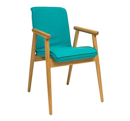 כסא עץ מרופד לשימוש בכל חדרי הבית דגם פיבי