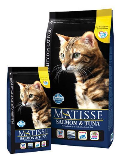 מזון לחתול בוגר סימיאו מאטיס סלמון וטונה 20 ק''ג