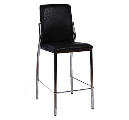 כסא בר למטבח בריפוד סקאי דגם סחלב במבחר גוונים לבחירה