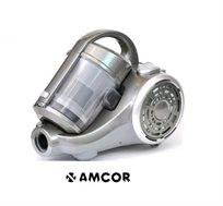 שואב אבק מולטי צקלוני מבית AMCOR, ללא שקיות, הספק 1900W, עוצמת שאיבה 550WSP וכולל מברשת חובטת!