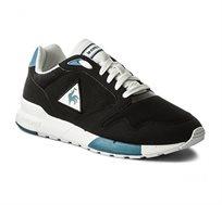 נעלי סניקרס LE COQ SPORTIF OMEGA X SPORT לגברים בצבע שחור/לבן/תכלת