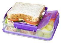 """אחסונית מלבנית מחולקת 975 מ""""ל TO GO מסדרת תיקי האוכל של חברת Sistema"""