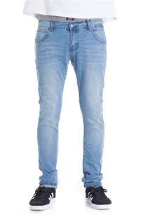 ג'ינס בגזרת סקיני פיט SUPPLY בצבע כחול בהיר