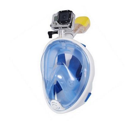 מסיכת צלילה לנוער ובוגרים Aquaview180° כולל שנורקל מובנה - משלוח חינם - תמונה 3