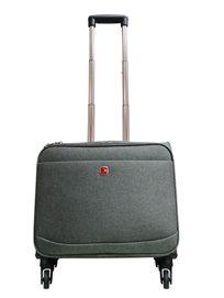 תיק מהודר חזק ועמיד במיוחד למחשב נייד 4 גלגלים Swiss Travel