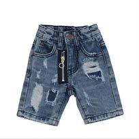 Oro ג'ינס(12 חודשים -16 שנים) - ברמודה פאטצ' רוכסן כחול