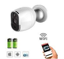 מצלמה אלחוטית IP עצמאית !!! ללא חיבורי כבלים  תומך IPHONE/ANDROID