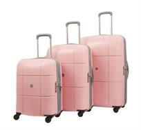 סט מזוודות 3 גדלים מבית ECHOLAC JAPAN במגוון צבעים לבחירה
