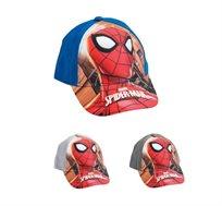 2 כובעי בייסבול ספיידרמן לילדים - דגם לבחירה