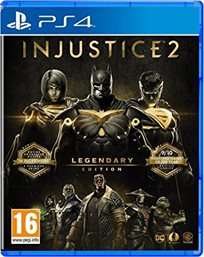 Injustice 2 Legendary Edition Day One Edition PS4 אירופאי!