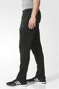 מכנסי ספורט סקיני Adidas לגבר - שחור