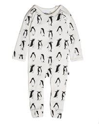 TOBIAS & THE BEAR אוברול תינוק  (24-0 חודשים)  - פינגוינים