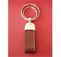 מחזיק מפתחות מעור Chiarugi Italy במגוון צבעים לבחירה