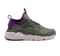 נעלי ספורט לגבר NIKE MAN'S AIR HUARACHE RUN ULTRA SE דגם 875841-003 בצבעי אפור/סגול