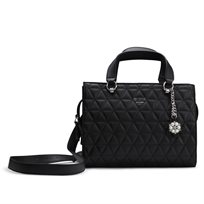 GUESS// EVERLY SATCHEL BLACK