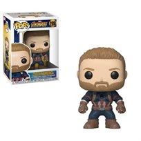 בובת פופ Funko Pop Marvel: קפטיין אמריקה (288) Captain America