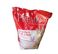 """9 שקי חול לחתול קריסטל לבן 1.6 ק""""ג"""