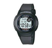 שעון יד דיגיטלי קלאסי - אפור כהה