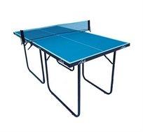 שולחן טניס מיני בעל רגליים ממתכת וגלגלי צד דגם MINI