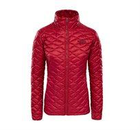 מעיל דגם T93RXF3YP לנשים בצבע אדום