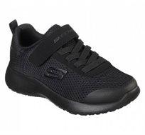 נעלי ספורט Skechers לילדים בצבע שחור
