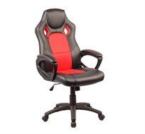 כסא גיימרים בעל גובה מתכוונן בריפוד PVC דגם SILVER STONE במגוון צבעים לבחירה