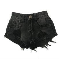 Oro/ שורט ג'ינס (16-2 שנים) -  שחור אפור