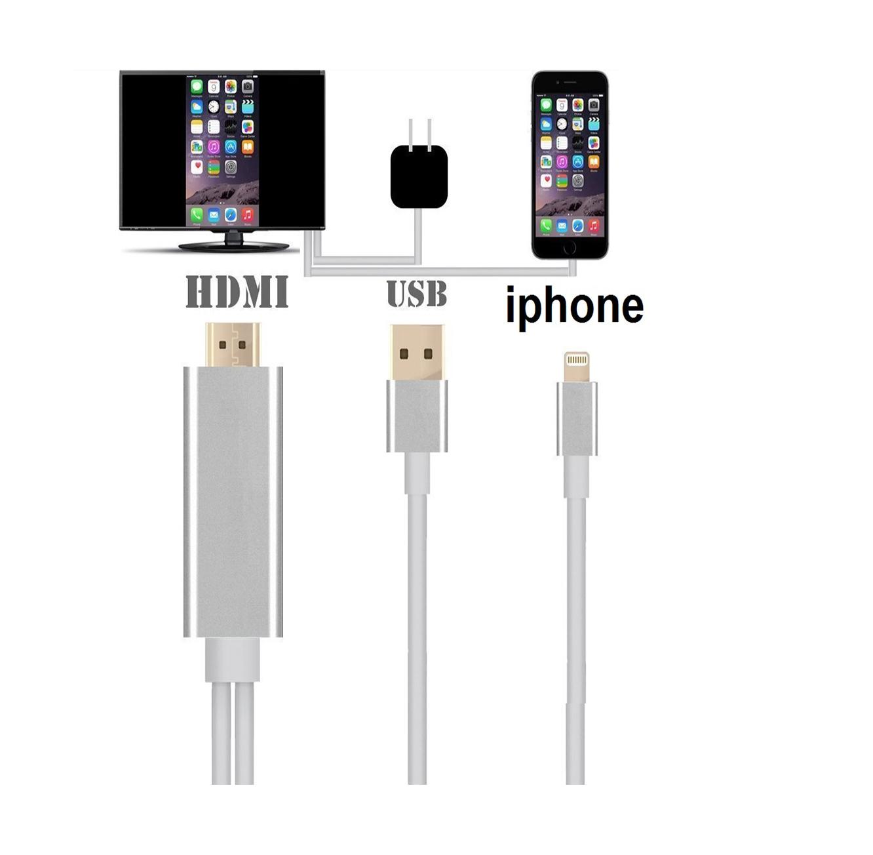 מתאם חכם לחיבור IPHONE/IPAD  לטלוויזיה, מוניטור מחשב, מקרן ועוד בחיבור HDMI  - תמונה 2