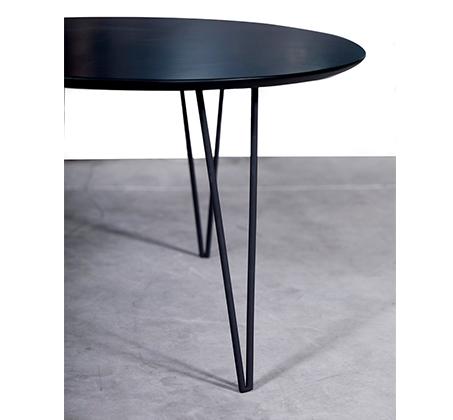 סט 2 שולחנות לסלון עם רגלי מתכת מעוצבות ופלטת עליונה בגוונים לבחירה דגם אורבן VITORIO DIVANI - תמונה 3