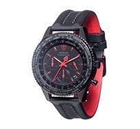 שעון כרונוגרף אנלוגי לגבר - FIRENZE Red