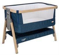 עריסה מתקפלת עם אפשרות להצמדה למיטת הורים ומצבי גובה Cozee כחול