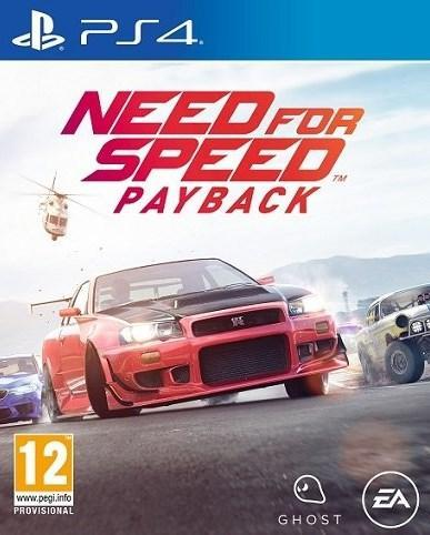 Need For Speed Payback Ps4 אירופאי!