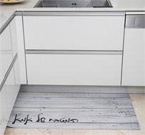 שטיח למטבח של אמא עשוי PVC במגוון וגדלים לבחירה