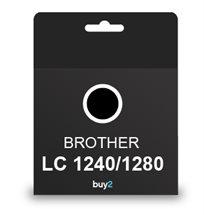 על איכות לא מתפשרים! ראש דיו תואם BROTHER LC 1240/1280 צבע שחור, דיו איכותי למדפסת