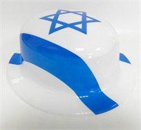 יום כחול לבן! כובע בעיטור דגל ישראל לכבוד יום העצמאות
