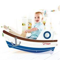 סירת נדנדה מעץ מלא