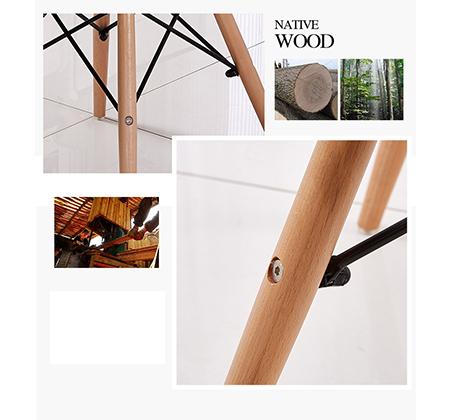 כיסא פלסטיק בעיצוב מודרני וייחודי BARI לפנים הבית ולבחוץ Westin Stock - תמונה 9