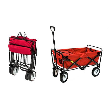עגלה מתקפלת עם גלגלים לקניות, טיולים ולילדים במגוון צבעים לבחירה דגם PULLY - תמונה 2
