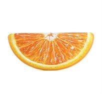 מזרן מתנפח בצורת פלח תפוז מודפס לבריכה ולים