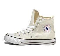נעלי סניקרס גבוהות לנשים - בז'