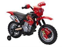 אופנוע שטח עם גלגלי עזר ממונע לגיל הרך דגם 6V מבית CITYSPORT