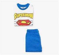 פיג'מה PYJAMA BOY OVS עם הדפס סופרמן לפעוטות - כחול