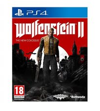 Wolfenstein Ii 2 : The New Colossus Ps4 במלאי! אירופאי!