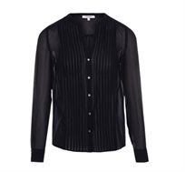 חולצת קפלים מכופתרת MORGAN לנשים בשני צבעים לבחירה