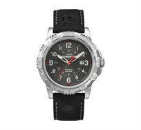 שעון יד אנלוגי לגברים בצבע שחור