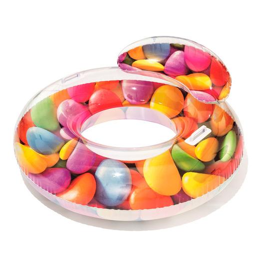 """גלגל ים סוכריות צבעוניות עם  ידיות ומשענת 180X72 ס""""מ"""