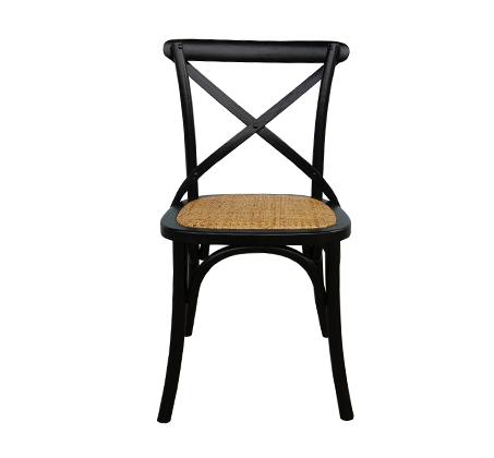 כסא מעוצב דגם קיאני ביתילי עשוי עץ בוקיצה בשילוב מושב ראטן במגוון צבעים לבחירה - משלוח חינם - תמונה 7