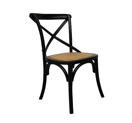 כסא מעוצב דגם קיאני ביתילי עשוי עץ בוקיצה בשילוב מושב ראטן במגוון צבעים לבחירה - משלוח חינם - תמונה 8
